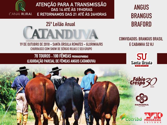 25º LEILÃO ANUAL CATANDUVA