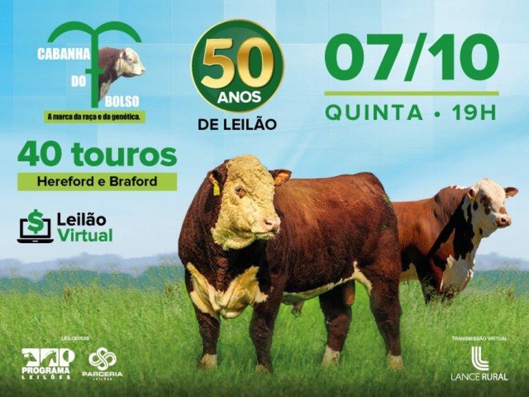 50º LEILÃO CABANHA DO BOLSO