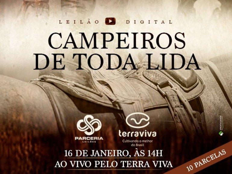 LEILÃO CAMPEIROS DE TODA LIDA - CATÁLOGO