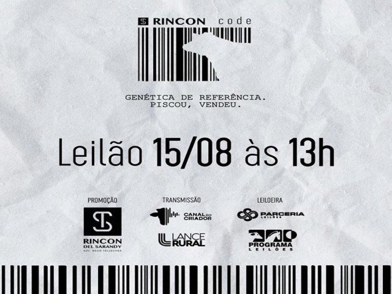 LEILÃO RINCON CODE