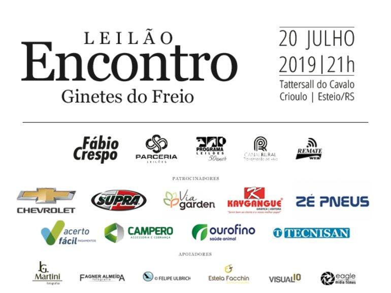 LEILÃO ENCONTRO - GINETES DO FREIO - VÍDEOS GINETES