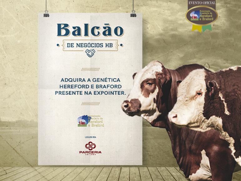 BALCÃO DE NEGÓCIOS HB - DE 24/08 A 01/09