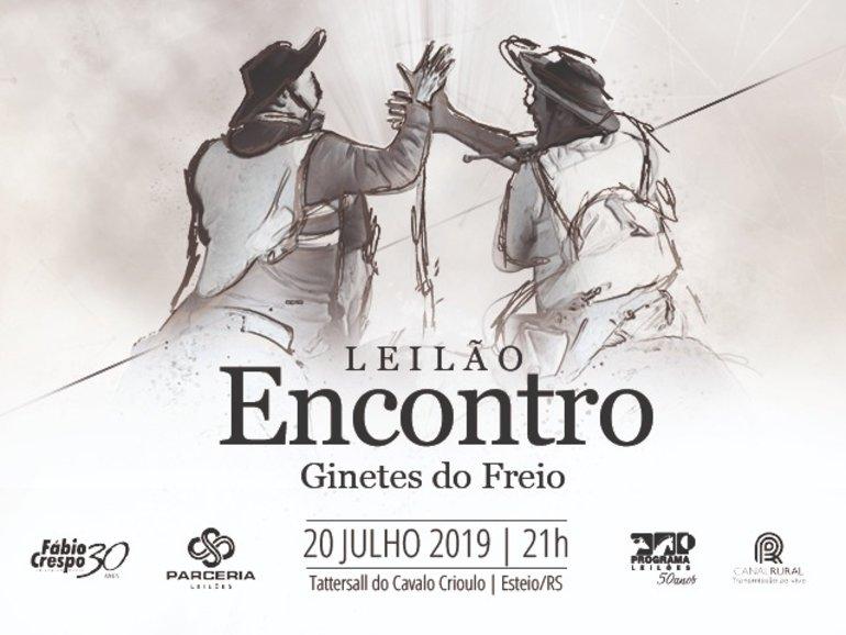 LEILÃO ENCONTRO - GINETES DO FREIO