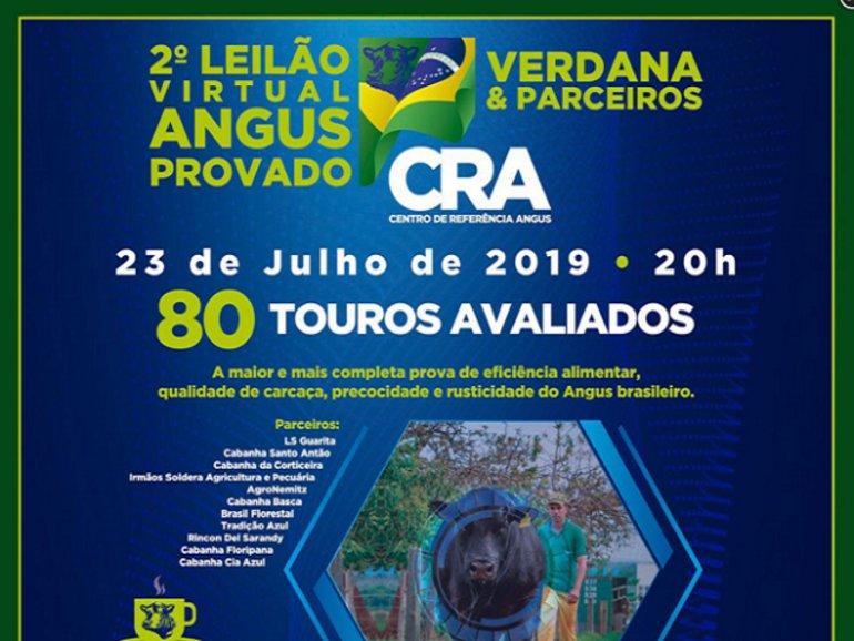 2º LEILÃO VIRTUAL ANGUS PROVADO, VERDANA E PARCEIROS