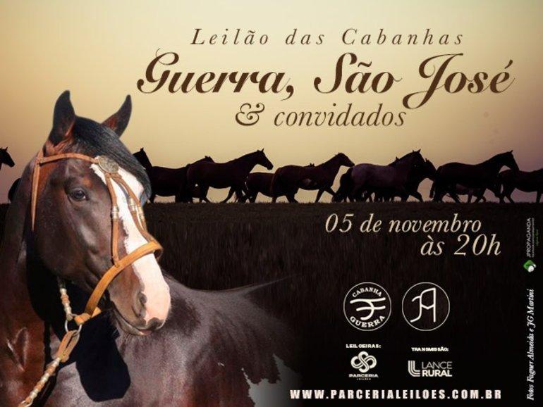 LEILÃO CABANHA DA GUERRA, SÃO JOSÉ E CONVIDADOS