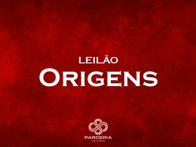 LEILÃO ORIGENS